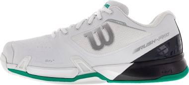 Wilson Rush Pro 2.5 - White Ebony Deep Green (WRS325550)