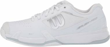 Wilson Rush Pro 2.5 - White/White/Pearl Blue (WRS326030)