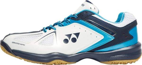 Yonex Power Cushion 35 - White/Sky Blue (SHB)