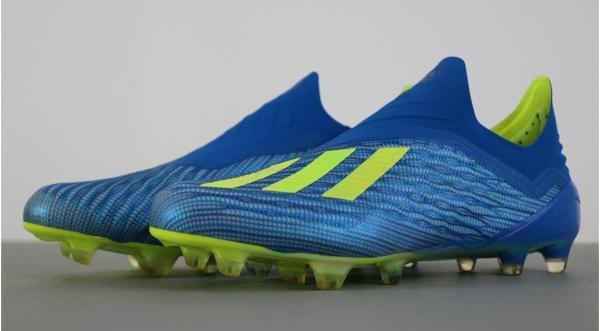 Adidas X 18+ Firm Ground - Speed without laces