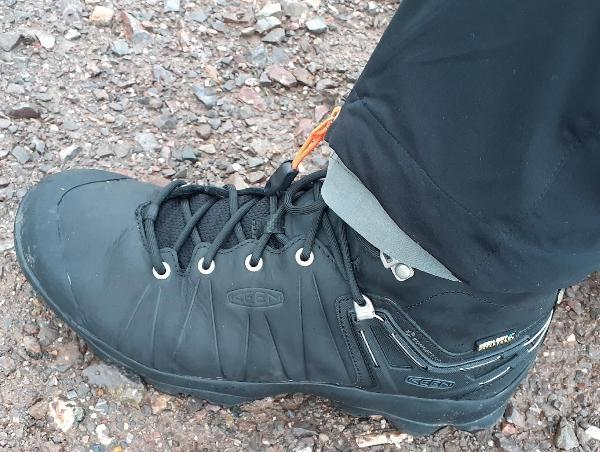 Keen Venture Mid Leather WP: Comfortable, versatile but a harder sell to those who wear more minimal options