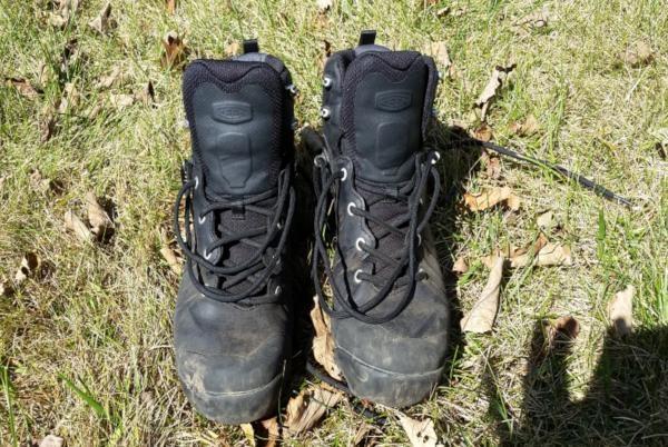 Keen Venture Mid Leather Waterproof: World-class lightweight hiking boots
