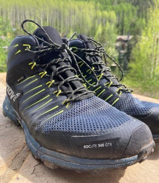 Inov-8 Roclite 345 GTX - A lightweight trail running shoe and hiking boot crossover
