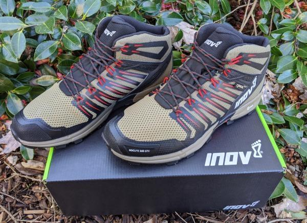 Fast hiking for any terrain: Inov-8 Roclite G 345 GTX boot review
