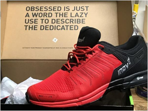 Inov-8 Roclite G 275 - A racing flat for the trails