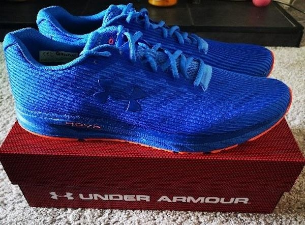 Training with my Under Armour HOVR Velociti 2