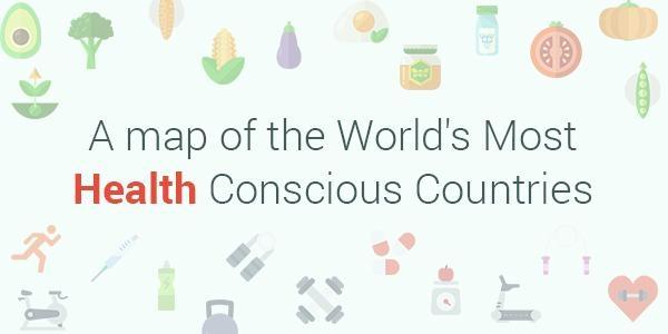 This Map Shows the Most Health Conscious Countries in the World