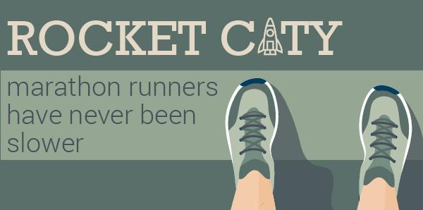 Rocket City Marathon Runners Have Never Been Slower