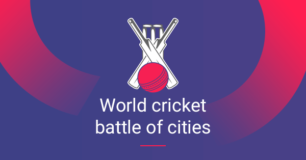 Where Does Your City Rank in the Cricket World Cup Rankings?