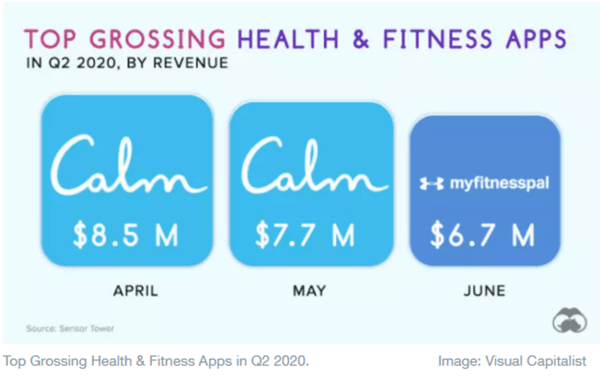 top-grossing-health-fitness-app-in-Q2-2020-by-revenue