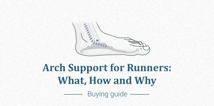 Running and arch support