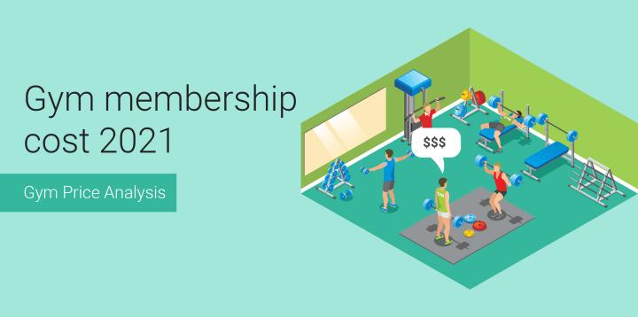 Average Gym Membership Cost 2021 [Gym Price Analysis]