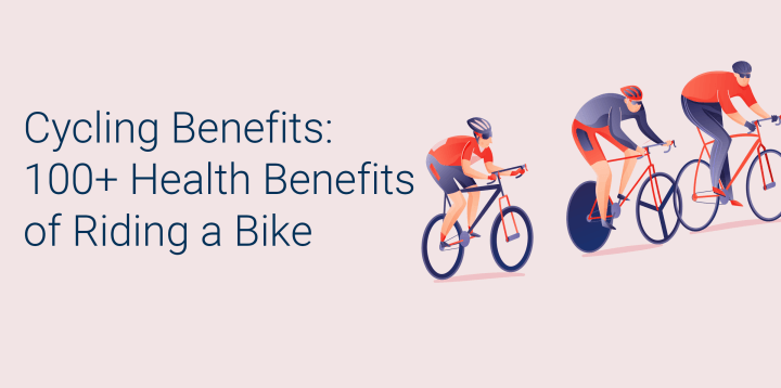 Cycling benefits: 105 health benefits of riding a bike