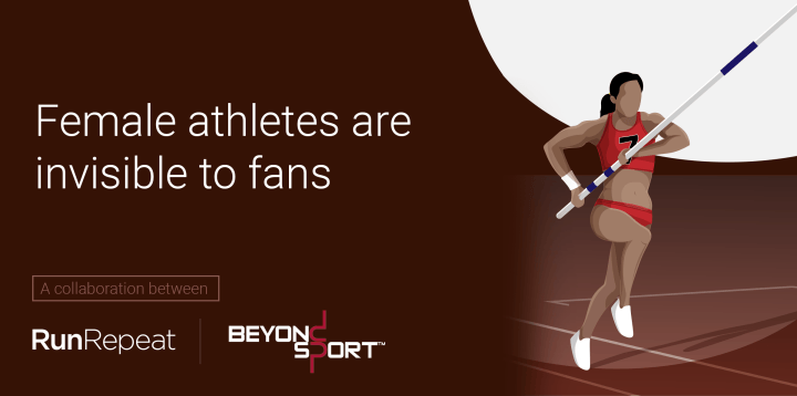Female athletes are invisible to fans (2,117 people survey)