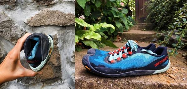 Barefoot minimalist running shoe