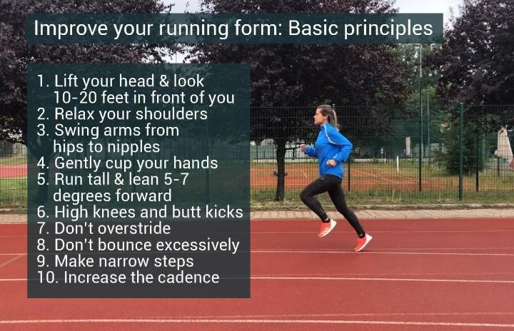 Basic principles of running form