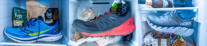 Worst shoes for running on cold days