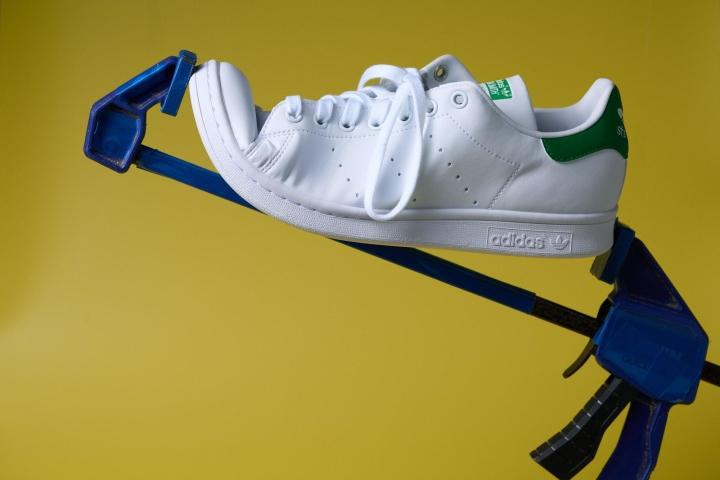 Adidas Stan Smith Bend Toe Cap Leath