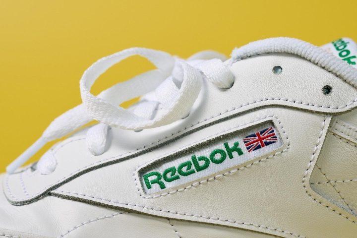 Reebok Club C85 Logo Details