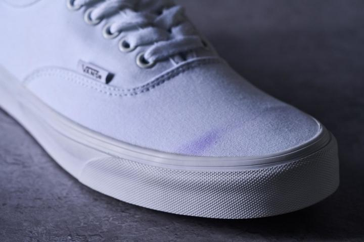 Vans Authentic Stain Testing Clean