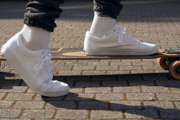 Vans Old Skool skateboarding