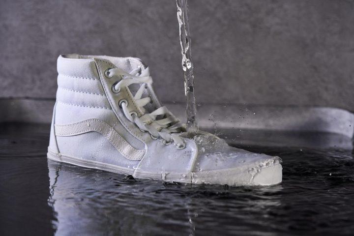 Vans Sk8-Hi Skate Shoe Review Water Proof Review