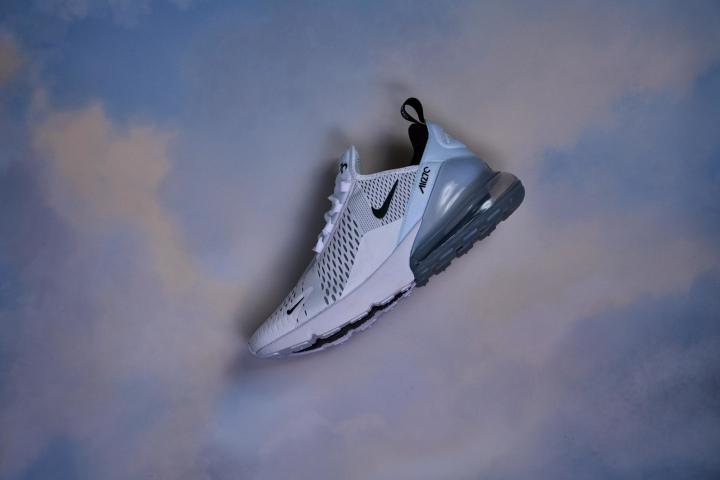 Nike Air Max 270 Flat Lay