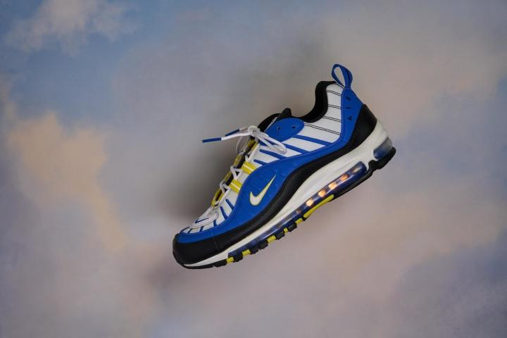 Nike Air Max 98 Flat Lay