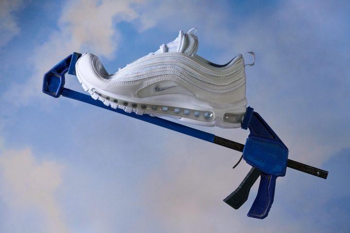 Nike Air Max 97 Review Bend Testing