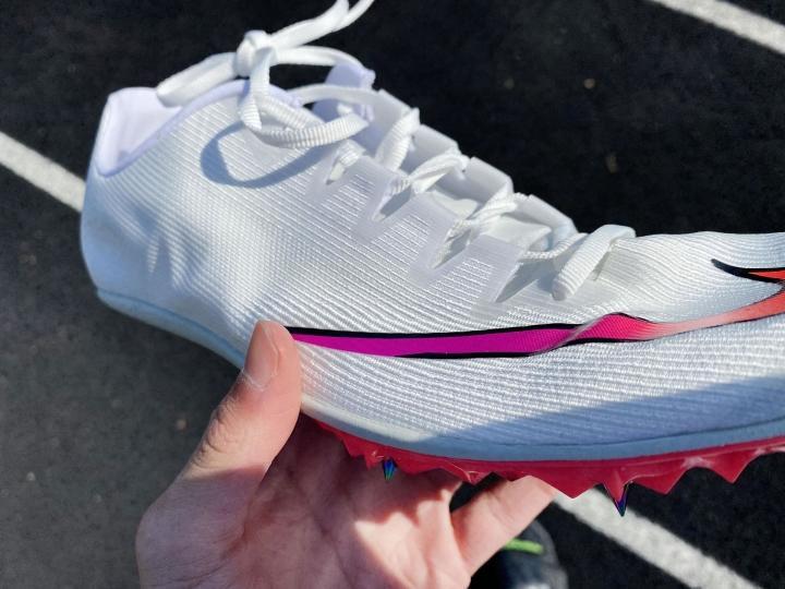 Upper on Nike Zoom 400