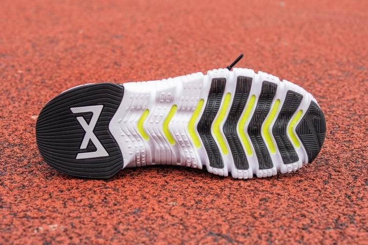 Outsole on Nike Free Metcon 3