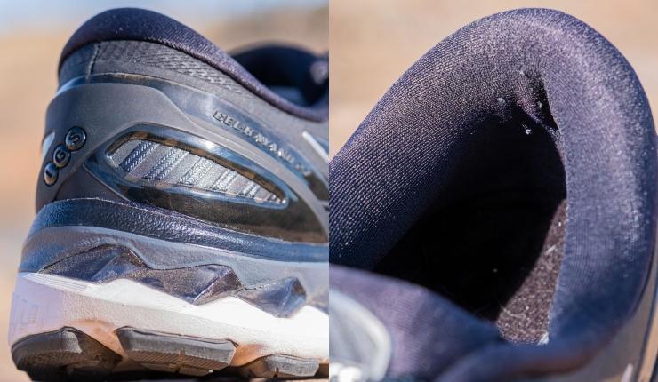 Kayano 27 heel design