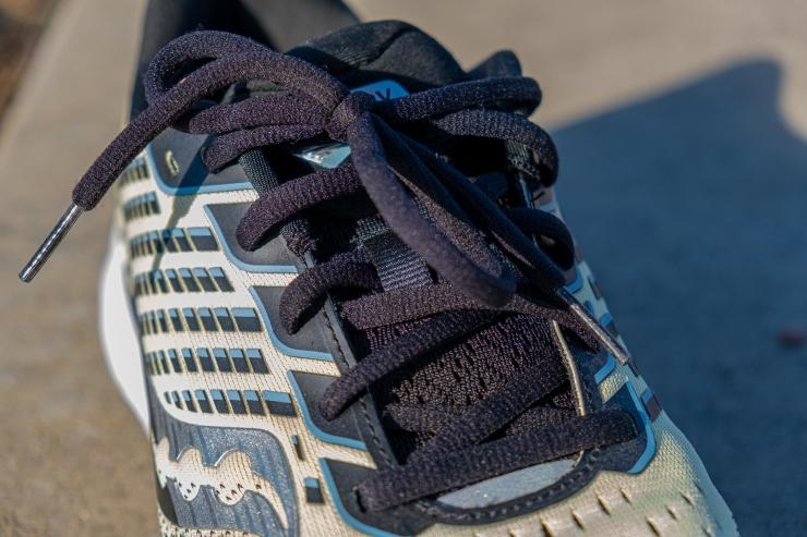 Lacing system in Saucony Ride 13