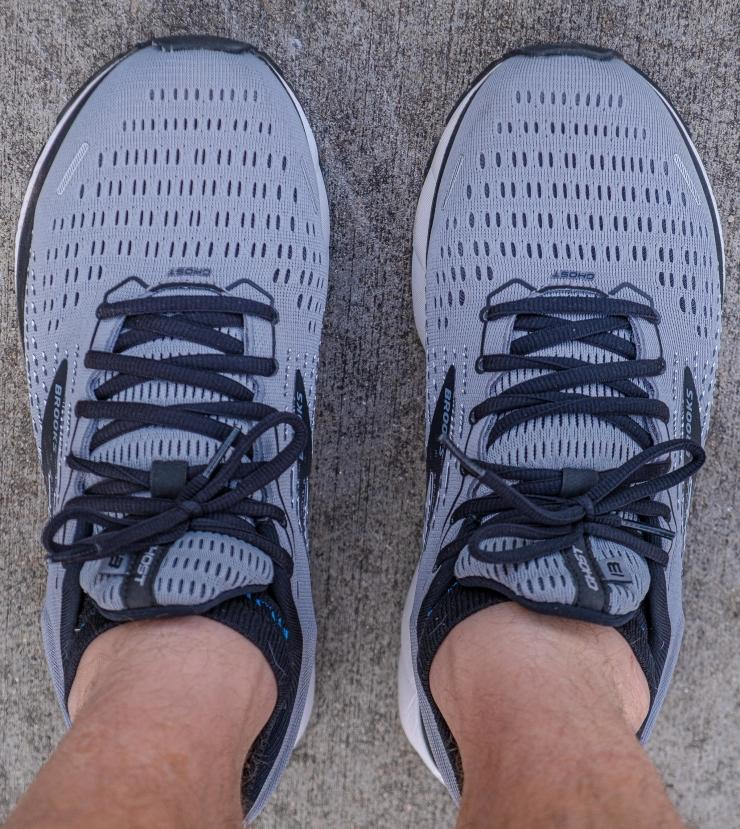 Brooks Ghost 13 wide forefoot