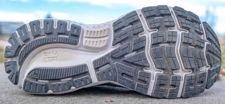 Ghost 13 outsole