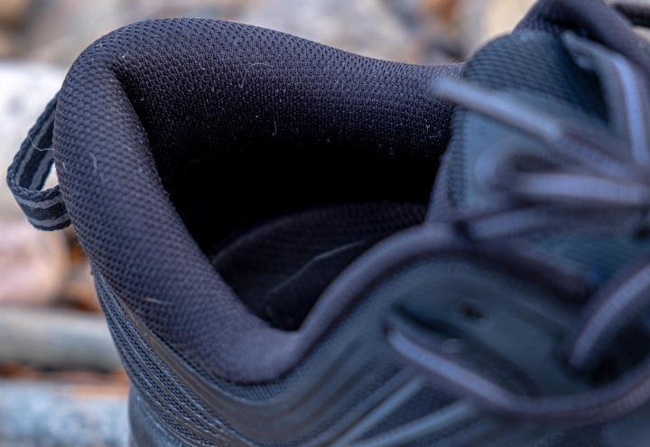 Hoka Bondi 7 padded heel