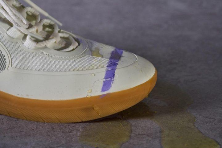 Nike SB Nyjah Free 2 Upper Stain Testing