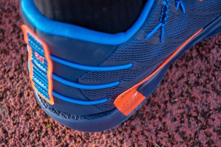 Adidas Dame 7 heel closeup