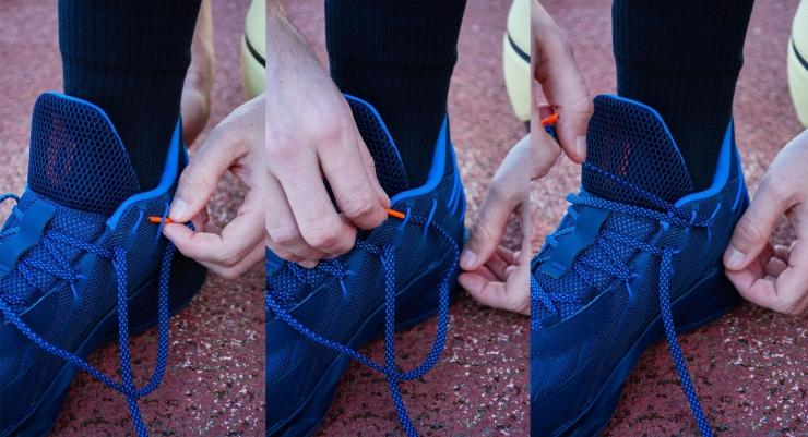 How to lace Adidas Dame 7