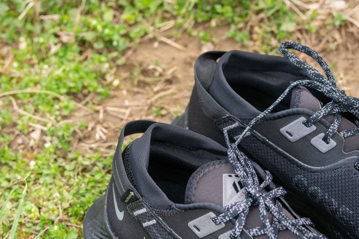 Heel tab on Nike Pegasus Trail 2 GTX