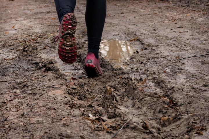 Mud run in Superior 4.5