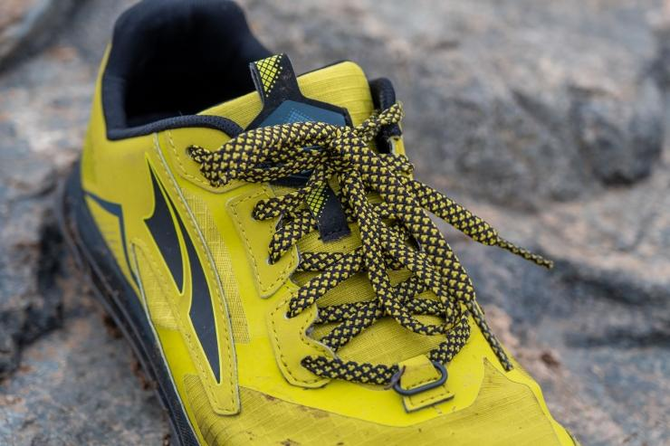 Laces on Altra Lone 5