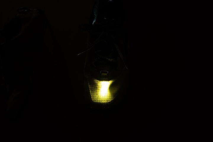 Transparency test done on Altra Lone Peak 5