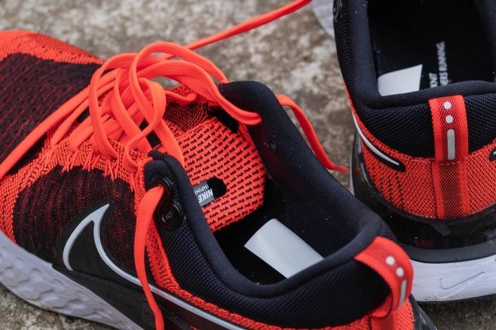 Tongue on Nike Infinity React Flyknit 2