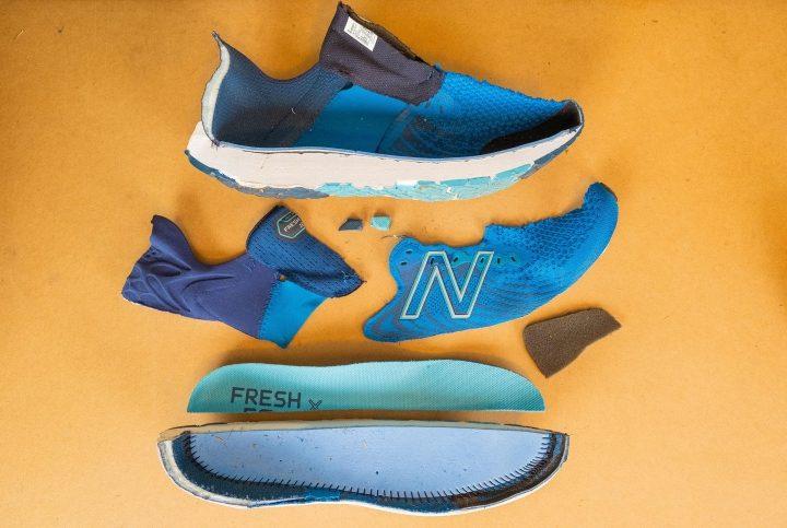 Pieces of New Balance Fresh Foam 1080 v11