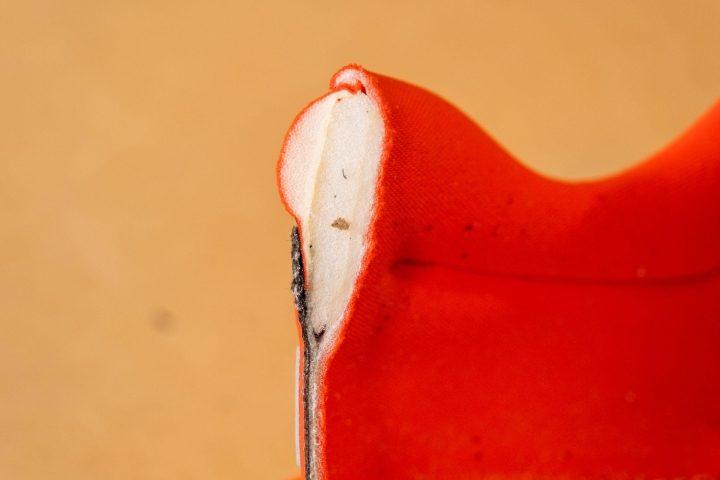 Padded heel collar on Nike Invincible Run
