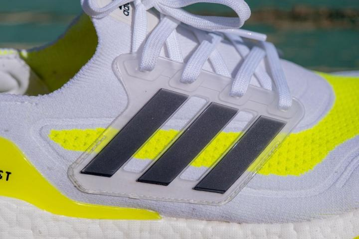 External lacing system on Adidas Ultraboost 21