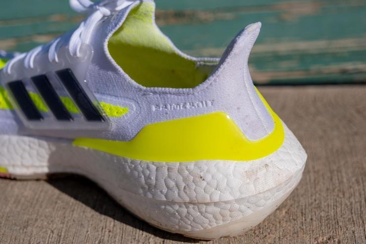 Ultraboost 21 heel design