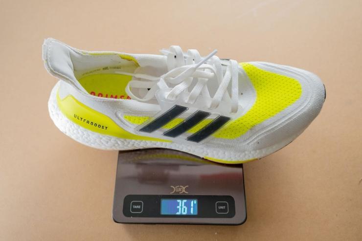 Weight of Adidas Ultraboost 21