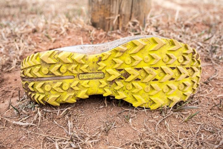 Outsole on Saucony Peregrine 11